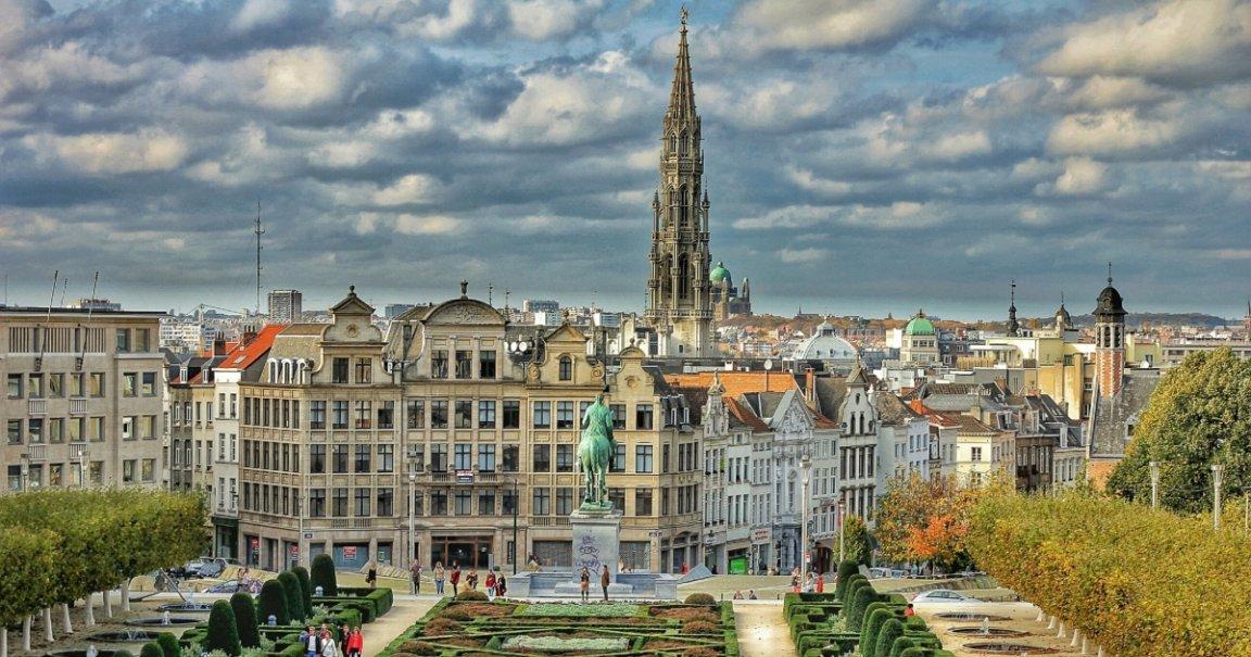 bruxelle ville en belgique