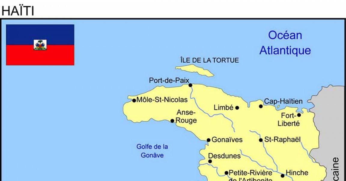Carte Haiti Plan